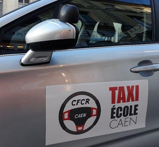Plaques magnétiques pour véhicules auto école CAEN