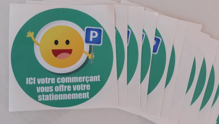 Stickers impression numérique et découpe à la forme CAEN