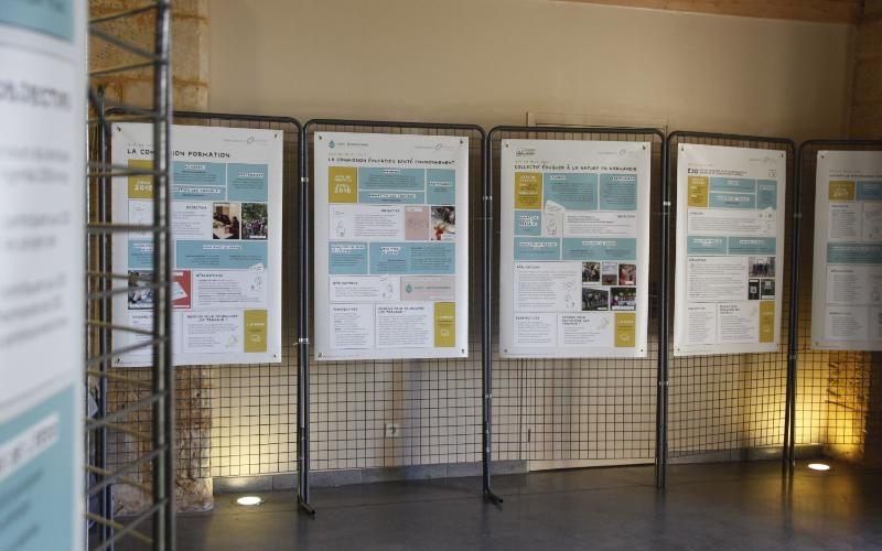 Bâche informative provisoire impression numérique Hérouville Saint-Clair